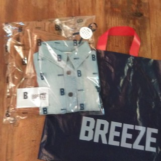 BREEZE - 【新品・未使用】BREEZE 半袖シャツ、ズボン