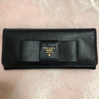 PRADA - PRADA♡リボン長財布