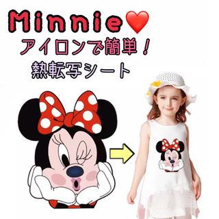 Disney ミニー♡ 熱転写シート アイロンシート 海外限定