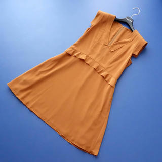 FOXEY - ■FOXEY NY■ 40 シャツワンピース くすみオレンジ