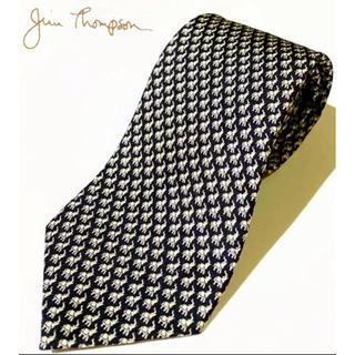 Jim Thompson - 111 極美品【JIM THOMPSON】ジム・トンプソン ポイントネクタイ