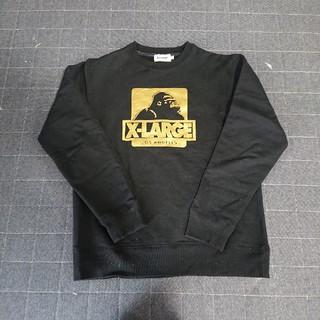 XLARGE - エクストララージ M  黒 スウェット