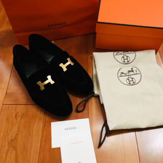 Hermes - エルメス パリ ローファー 36.5 新品