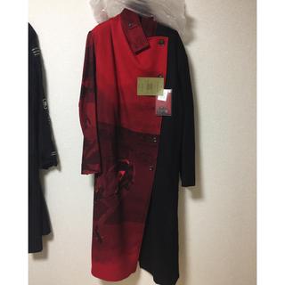 Yohji Yamamoto - yohji yamamoto 18aw 赤フラノ右前ドレス