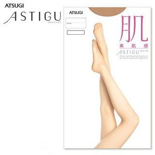 アツギ(Atsugi)の【8足セット】アツギ アスティーグ 肌 素肌感 パンスト ベビーベージュ M-L(タイツ/ストッキング)