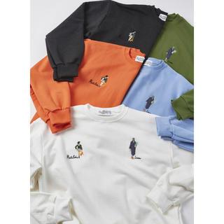 LEON レオンマチルダ刺繍ロゴトレーナー 5色(Tシャツ/カットソー(七分/長袖))