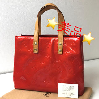 LOUIS VUITTON - 正規品 ルイヴィトン 美品 ヴェルニ リードPM トートバッグ