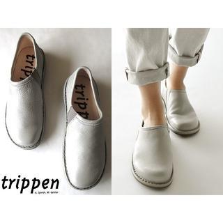 trippen - 新品 定価50600円 トリッペン WON サイドゴア レザースリッポン 37