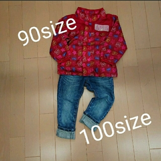 BREEZE - 90サイズ トップス 100サイズ ジーンズ