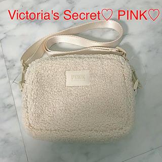 Victoria's Secret - 新品 PINK オフホワイト ショルダーバッグ
