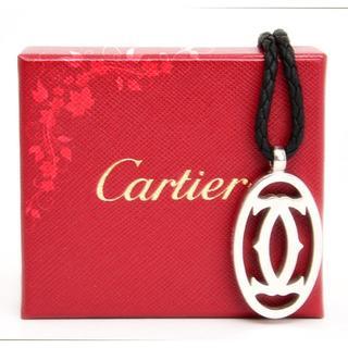 カルティエ(Cartier)のカルティエ♡2C ペンダントネックレス・キーホルダーチャーム♡2WAY シルバー(ネックレス)