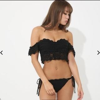 リエンダ(rienda)のrienda 黒ビキニ(水着)