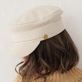 アリシアスタン(ALEXIA STAM)の【送料込み】新品タグ付き アリシアスタン 帽子 ハット キャップ(キャスケット)
