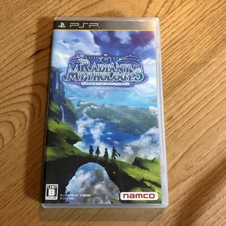 プレイステーションポータブル(PlayStation Portable)のテイルズ オブ ザ ワールド レディアント マイソロジー3 PSP(携帯用ゲームソフト)