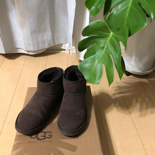アグ(UGG)のお値下げ!UGGブラウンムートンブーツ38サイズ♡(ブーツ)
