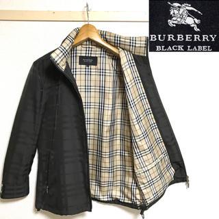BURBERRY BLACK LABEL - 極希少!未使用!バーバリーブラックレーベ 両面ノバチェック ブルゾン