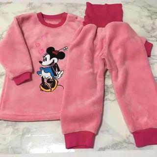 Disney - 即購入OK!新品★ディズニー ミニー 裏表ボア 腹巻付 パジャマ 95cm