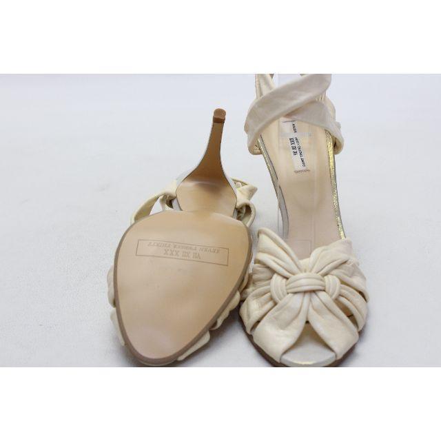 VII XII XXX(セヴントゥエルヴサーティ)の101■VII XII XXX 本革ソフトレザーサンダル(37)超美品 レディースの靴/シューズ(サンダル)の商品写真
