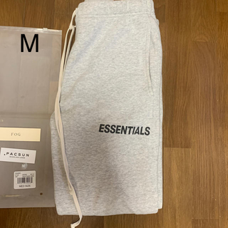 FEAR OF GOD - 【M】FOG Essentials Sweatpants グレー