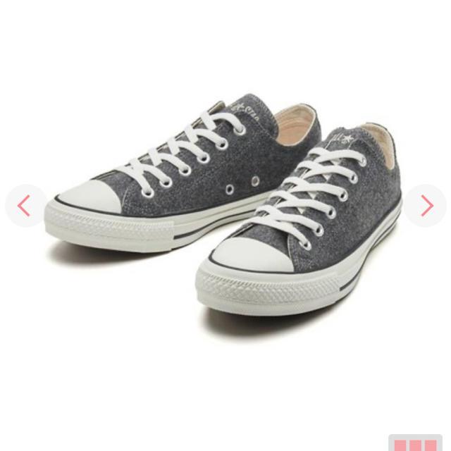 CONVERSE(コンバース)のコンバース ウール グレー 24.5cm レディースの靴/シューズ(スニーカー)の商品写真