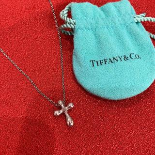 Tiffany & Co. - ティファニー ネックレス クロス