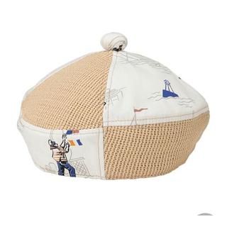 カオリノモリ(カオリノモリ)のカオリノモリ 船乗り柄 ベレー帽(ハンチング/ベレー帽)