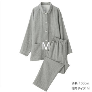 MUJI (無印良品) - 脇に縫い目のない 二重ガーゼ パジャマ・婦人 M