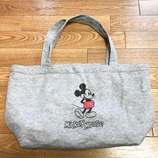 ミッキーマウス グレー 新品トート(トートバッグ)