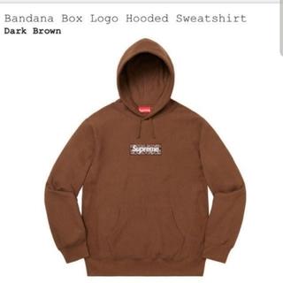 Supreme - supreme bandana boxlogo hooded M