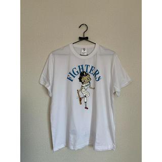 ホッカイドウニホンハムファイターズ(北海道日本ハムファイターズ)のfighters ベティ Tシャツ White 新品 男女兼用(Tシャツ(半袖/袖なし))