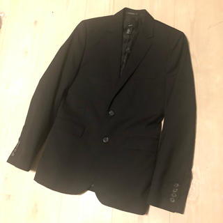 エイチアンドエム(H&M)のH&M スーツ 黒 セットアップ メンズ 洗濯可能 ウォッシャブル(セットアップ)