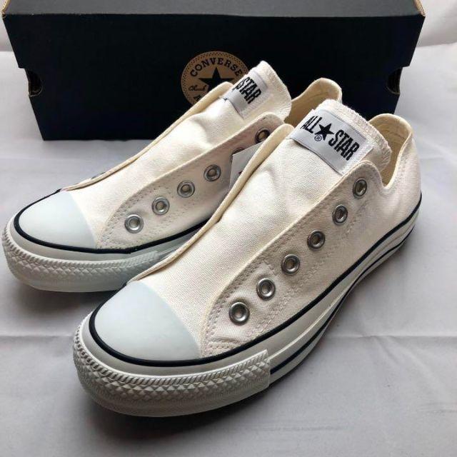 CONVERSE(コンバース)のCONVERSE コンバース オールスターOX キャンバス スリッポン 23.5 レディースの靴/シューズ(スニーカー)の商品写真