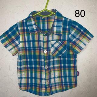 キムラタン(キムラタン)のラキエーベ 半袖シャツ 80(シャツ/カットソー)