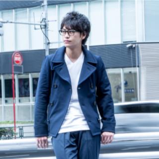 オニツカタイガー(Onitsuka Tiger)のオニツカタイガー Pコートジャケット ネイビー(ピーコート)