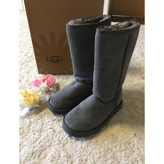 アグ(UGG)のふんわり暖かい♪アグムートンブーツ 25.0cm(ブーツ)