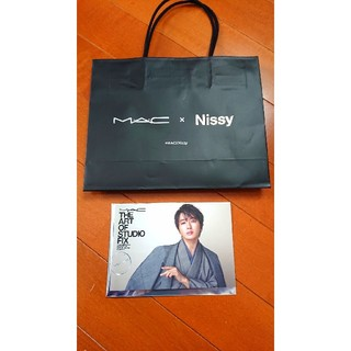 MAC - MAC x Nissy/限定コラボショッパー・カード/未使用