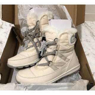 ソレル(SOREL)のDMR様 新品 SOREL WHITNY SHORT LACE 24.5cm  (ブーツ)