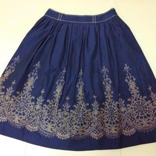 JaneMarple - ヴィクトリアン刺繍スカートート