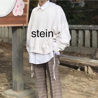サンシー(SUNSEA)の【stein】シュタイン OVERSIZED REBUILD SWEAT LS(スウェット)