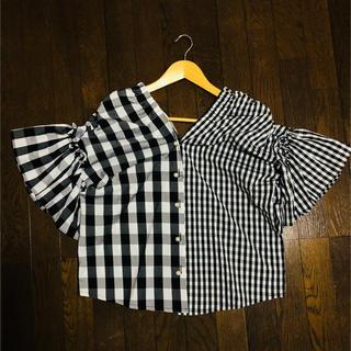 SCOT CLUB - *新品*SCOTCLUB ギンガムチェックシャツ バルーン袖