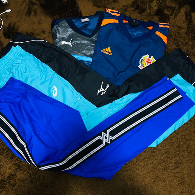 MIZUNO(ミズノ)のピステ 上下セット スポーツ/アウトドアのサッカー/フットサル(ウェア)の商品写真