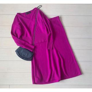 ユナイテッドアローズ18A/Wニットスカートセットアップ17,600円