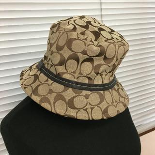 COACH - コーチ 帽子 茶色