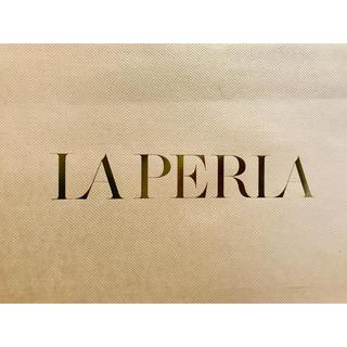 ラペルラ(LA PERLA)のLAPERLA ラペルラ ショッパー 紙袋(ショップ袋)
