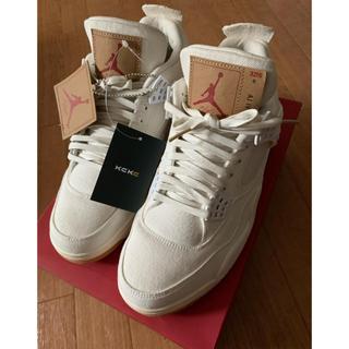 """リーバイス(Levi's)のLevi's × Air Jordan 4 Retro """"White"""" 27㎝(スニーカー)"""