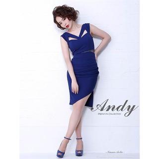 アンディ(Andy)のandy ワンカラーカットアウトノースリタイトドレス(ミニドレス)
