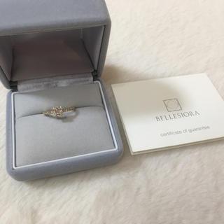 ○haruさまお取り置き○  ベルシオラ  ダイヤモンドリング k18(リング(指輪))