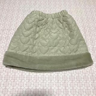女の子110 冬スカート