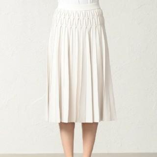 エポカ(EPOCA)の新品 EPOCA エポカ スカート ニット ラメ プリーツ ニットスカート(ひざ丈スカート)