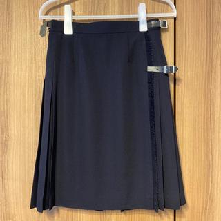 ヨークランド(Yorkland)の【美品】ヨークランド プリーツ巻きスカート(ひざ丈スカート)